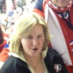 Nancy at 2008 World Jrs Hockey