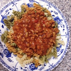 southern style meat sauce printer friendly