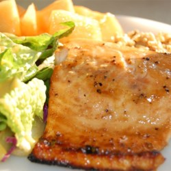 Baked Salmon Fillets Dijon Recipe