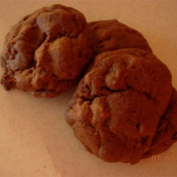 Chocolate Chocolate Chip Cake Cookies Recipe