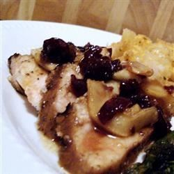 Photo of Marinated Pork Medallions with a Ginger-Apple Compote by adam