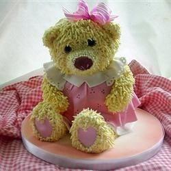 I want to make something like this teddy bear cake.