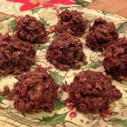 oatmeal chocolate coconut macaroons printer friendly