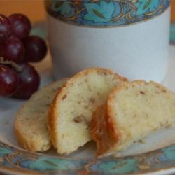 Lemon Pecan Pound Cake
