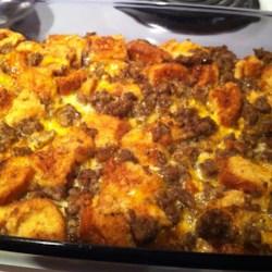 christmas breakfast sausage casserole recipe allrecipescom - Christmas Casserole Recipes