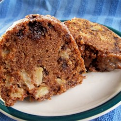 Chocolate Chip Apple Cake Recipe