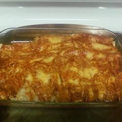Bean Potato Enchiladas |