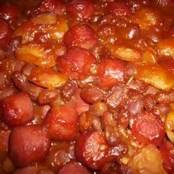 Three Bean Casserole Recipe