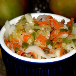 Curtido (El Salvadoran Cabbage Salad) Recipe
