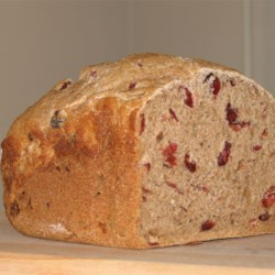 Cranberry Wheat Bread