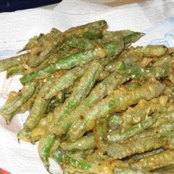 Sesame Tempura Green Beans Recipe