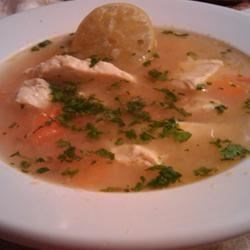 Sopa De Lima (Mexican Lime Soup) Recipe