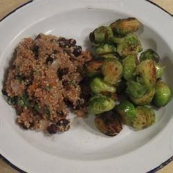 Quinoa with Carrots and Raisins