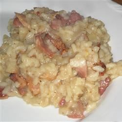 Bacon Risotto Recipe