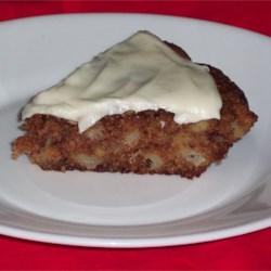 French Apple Pie with Cream Cheese Topping