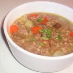 Tarragon-Turkey Soup Recipe