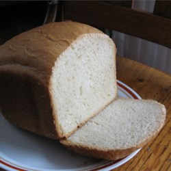 White Bread For The Bread Machine Recipe