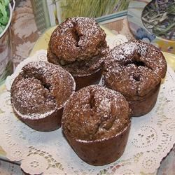 Chocolat Pecan Popovers