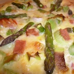 Image of Asparagus Swiss Quiche, AllRecipes