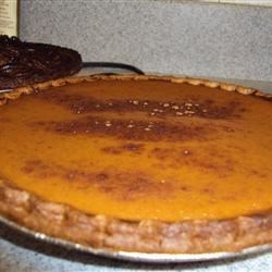 Thanksgiving Pumpkin Pie 2009