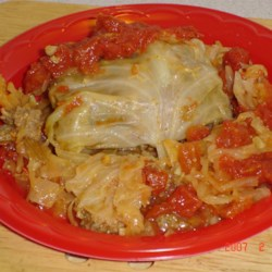 Slovak Stuffed Cabbage Recipe