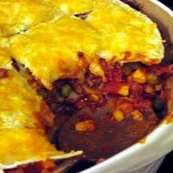 Chili Beef Casserole Recipe