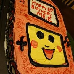 Birthday DS Cake