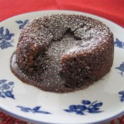 Molten Chocolate Cake - Petit Gateau