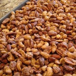 Sugar and Spiced nuts