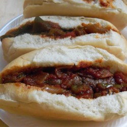 Sausage, Pepper, and Onion Sandwiches