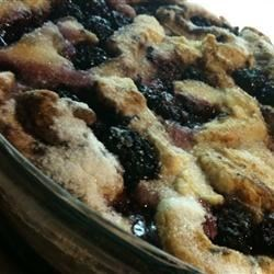 Photo of Blackberry Cobbler by Trudy  Cinquie