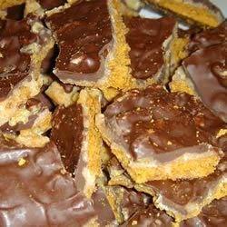 Graham Cracker Toffee Cookies