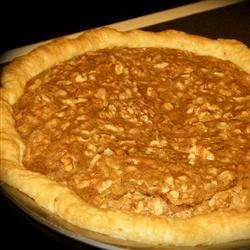Mocha Walnut Pie Recipe