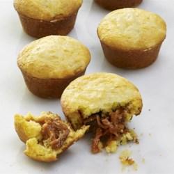 bbq pork stuffed corn muffins printer friendly