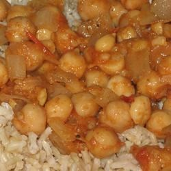 Pakistani Spicy Chickpeas Recipe