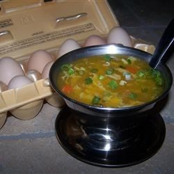 One-Egg Egg Drop Soup Recipe