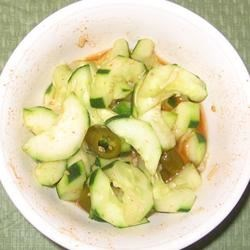 Photo of Chinese-Korean Cucumber Kimchi by Helena C