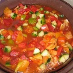 Dill Gazpacho Recipe