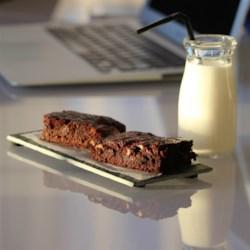 easy grain free almond flour brownies printer friendly