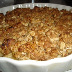 Pear Crisps and Crumbles