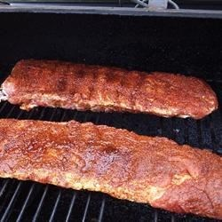 Baby Backs Rubbed