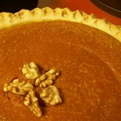 Carrot Spice and Walnut Pie Recipe