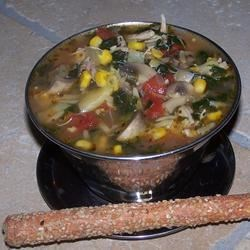 Chicken and Artichoke Minestrone Recipe