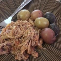 Tomato-Sauerkraut Pork