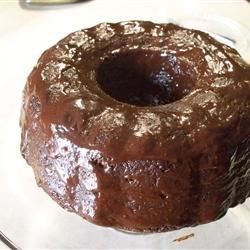 Chocolate Irish Cream Bundt Cake