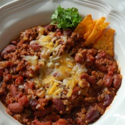 Sharon's Awesome Chicago Chili Recipe