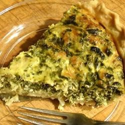 Suzanne's Spinach Quiche Recipe