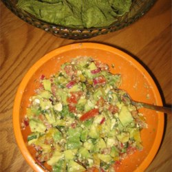 Image of Avocado Feta Salsa, AllRecipes