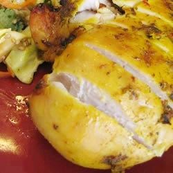 Barbequed Thai Style Chicken Recipe
