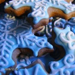 Ginger Snowflakes
